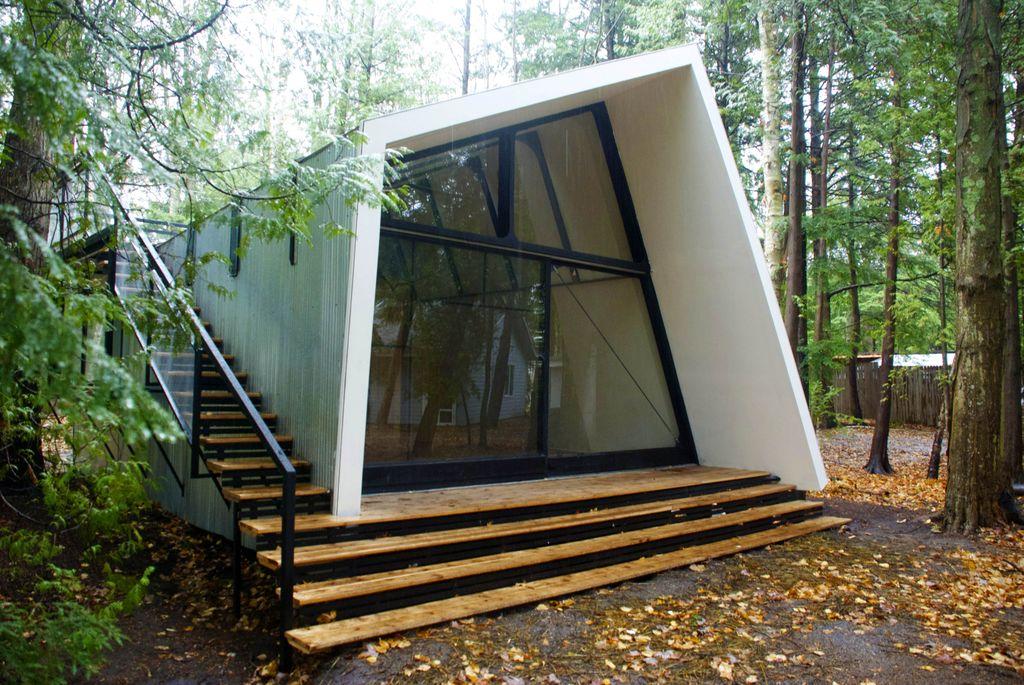 Manahan & Phuntsok designed summer studio for Elliott Earls