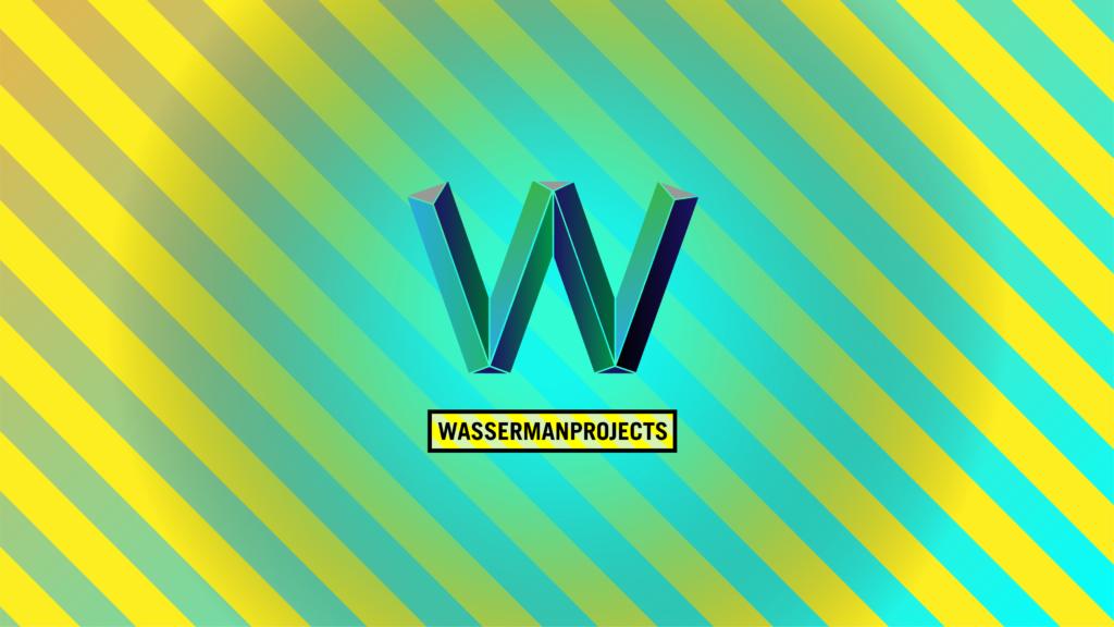 Logo for gallery WassermanProjects by Elliott Earls