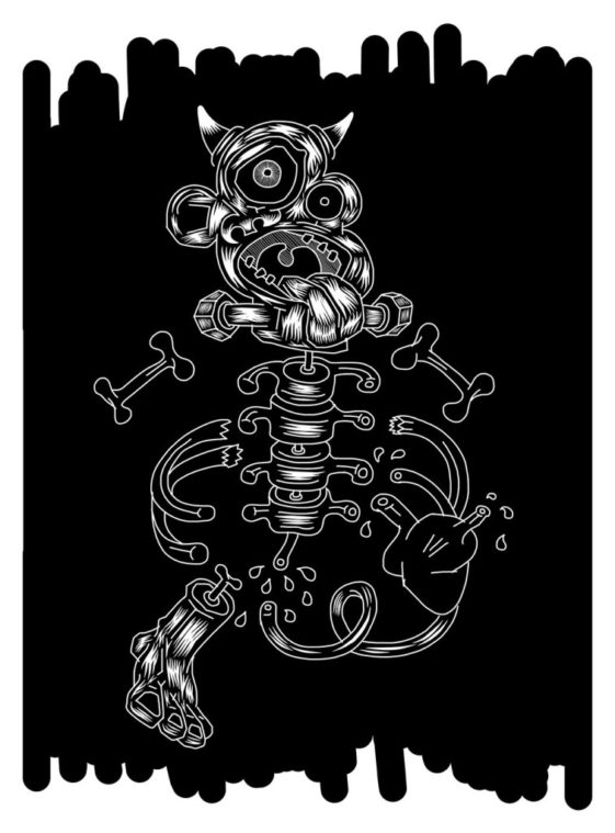 ElliottEarlsSkeletonBlackandWHite2