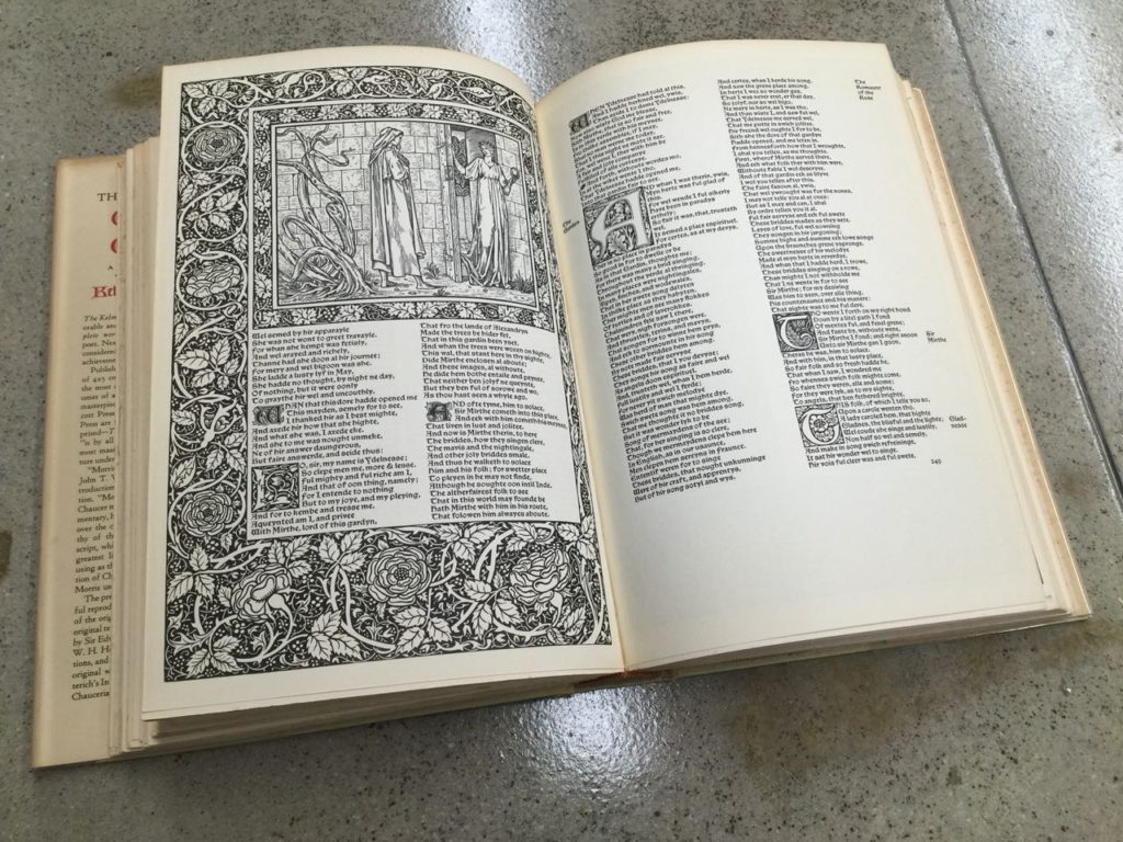 The Works of Geoffrey Chaucer Kelmscott Press