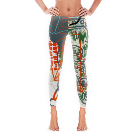 """""""The Complete Loss of Subjective Self-Identity"""" Inspired Leggings"""