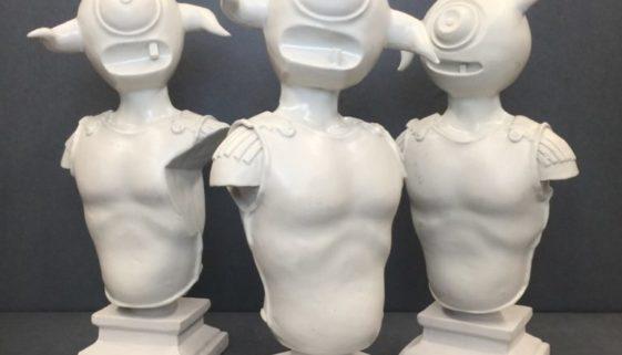 Selection of Figures by Elliott Earls