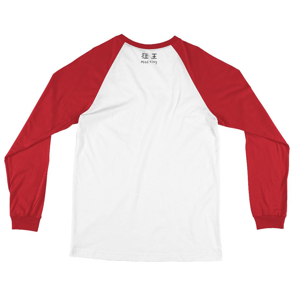 "(Back) Limited Edition ""Protocubist Baseball T in Red and White"